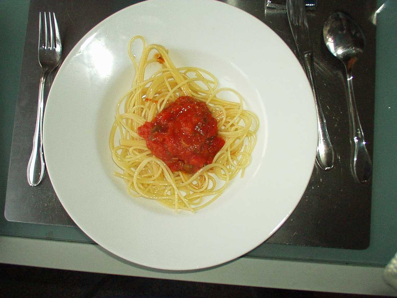 spaghetti im wasserkocher